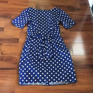 Mod Cloth Polk-a-Dot Dress